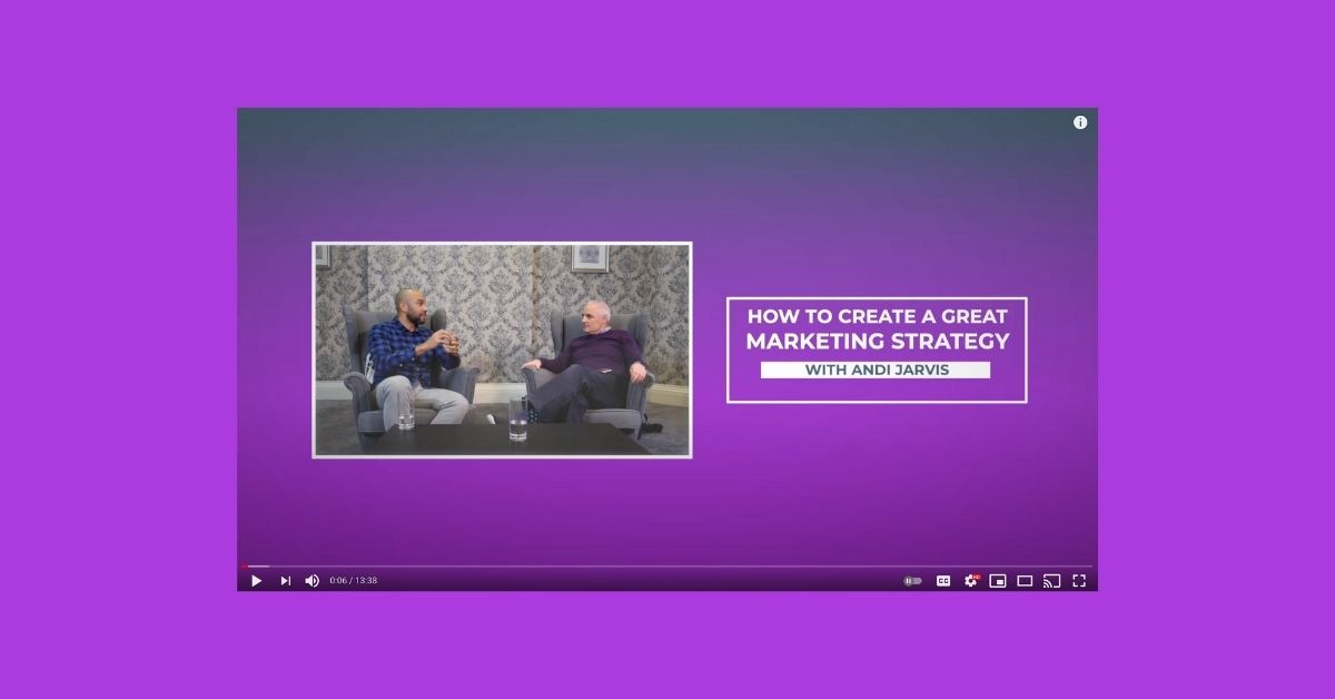 how to create a great marketing strategy